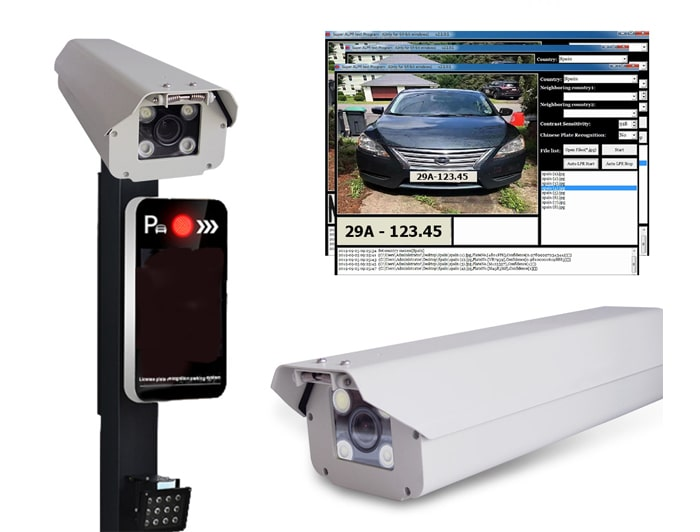 Camera chụp biển số xe